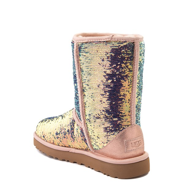 alternate view Womens UGG® Classic Short II Cosmos Boot - QuartzALT2