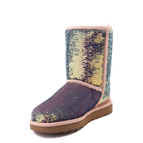 alternate view Womens UGG® Classic Short II Cosmos Boot - QuartzALT3
