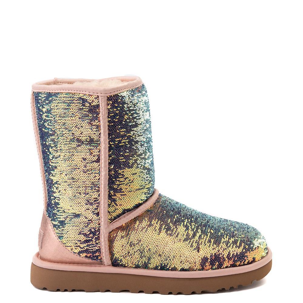 Womens UGG® Classic Short II Cosmos Boot - Quartz