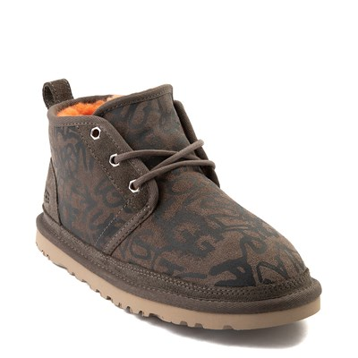 Alternate view of Womens UGG® Neumel Graffiti Short Boot - Slate