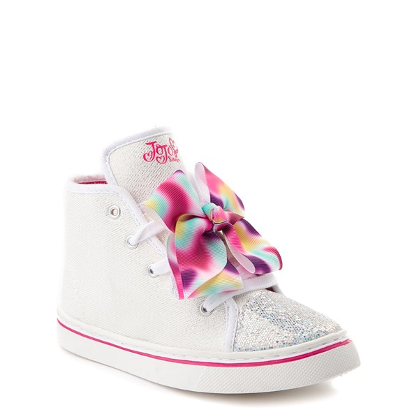 Alternate view of JoJo Siwa™ Glitter Bow Hi Sneaker - Little Kid / Big Kid