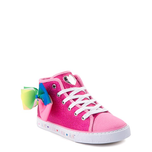 alternate view JoJo Siwa™ Glitter Bow Hi Sneaker - Little Kid / Big KidALT1