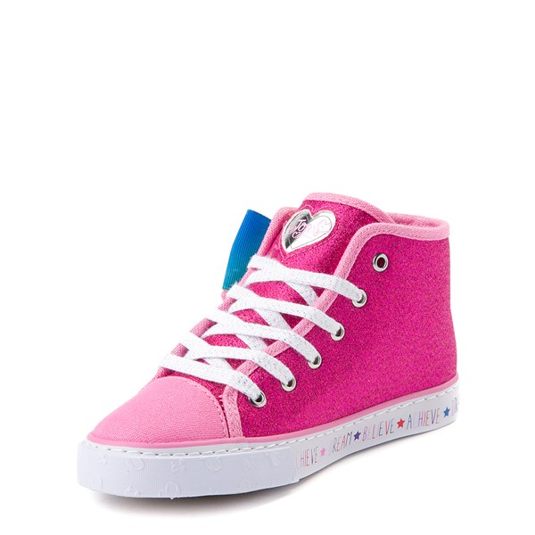 alternate view JoJo Siwa™ Glitter Bow Hi Sneaker - Little Kid / Big KidALT2