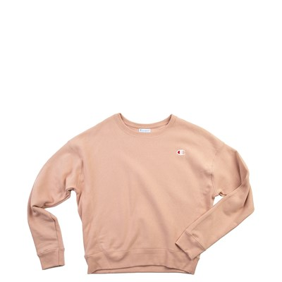 Main view of Womens Champion Reverse Weave Crew Sweatshirt