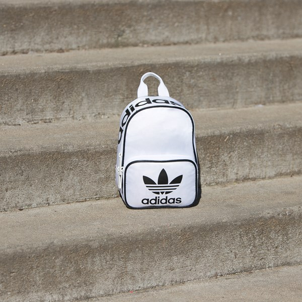 alternate view adidas Santiago Mini Backpack - WhiteALT1BB