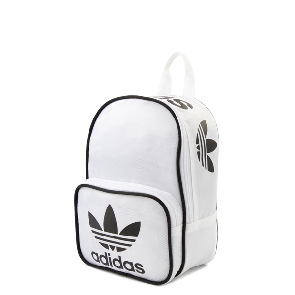 alternate view adidas Santiago Mini Backpack - WhiteALT4