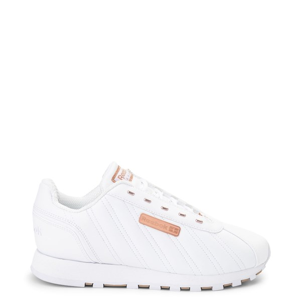 Womens Reebok Oryx Athletic Shoe - White / Rose Gold
