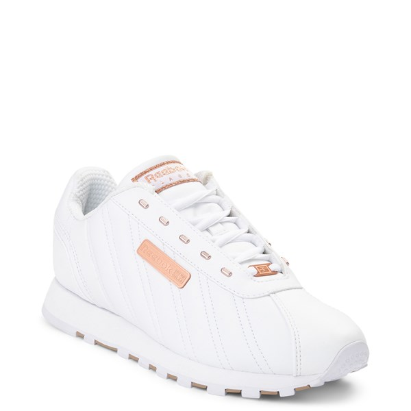 alternate view Womens Reebok Oryx Athletic Shoe - White / Rose GoldALT1