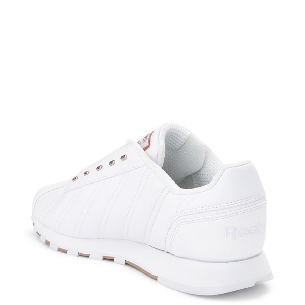 alternate view Womens Reebok Oryx Athletic Shoe - White / Rose GoldALT2