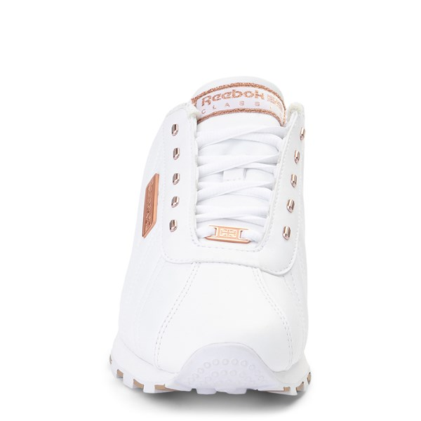 alternate view Womens Reebok Oryx Athletic Shoe - White / Rose GoldALT4