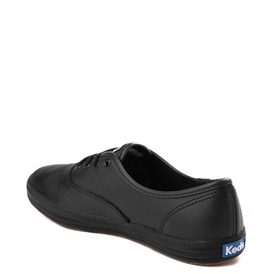 Alternate view of Womens Keds Champion Original Leather Casual Shoe - Black