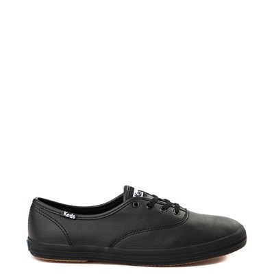 Main view of Womens Keds Champion Original Leather Casual Shoe - Black