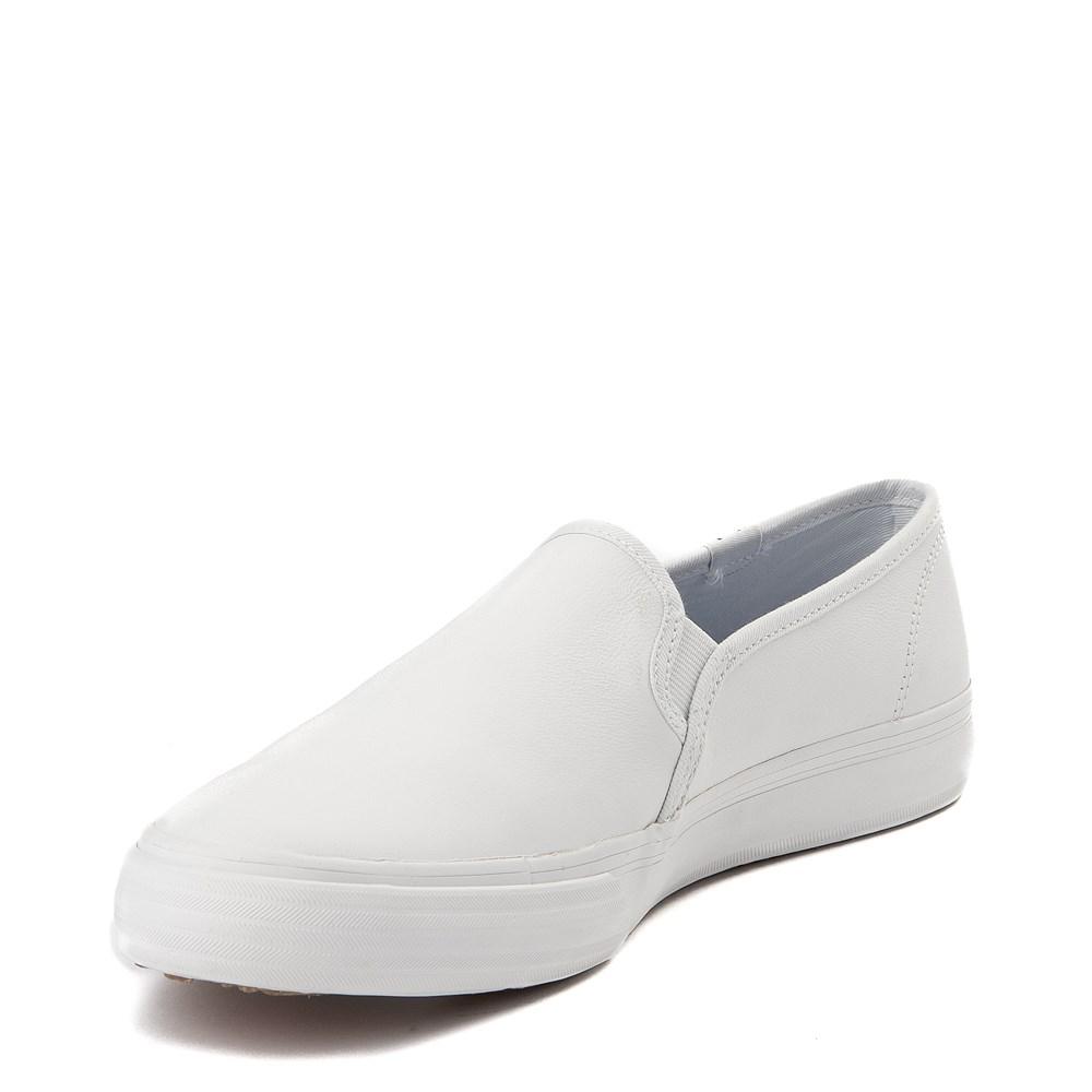 fa49996cb4fa69 Womens Keds Double Decker Slip On Leather Casual Shoe