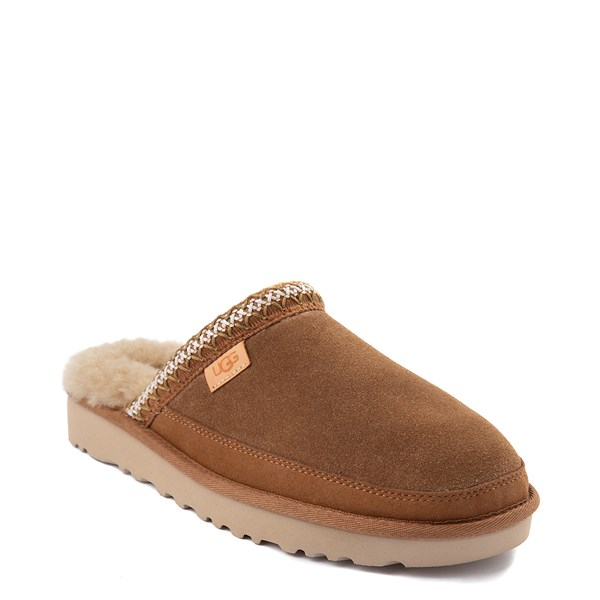 alternate view Mens UGG® Tasman Slipper - ChestnutALT1