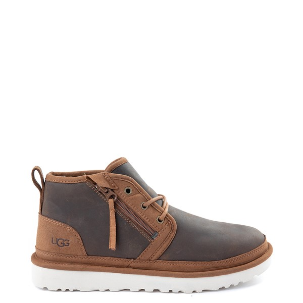 Mens UGG® Neumel Zip Casual Shoe - Chestnut