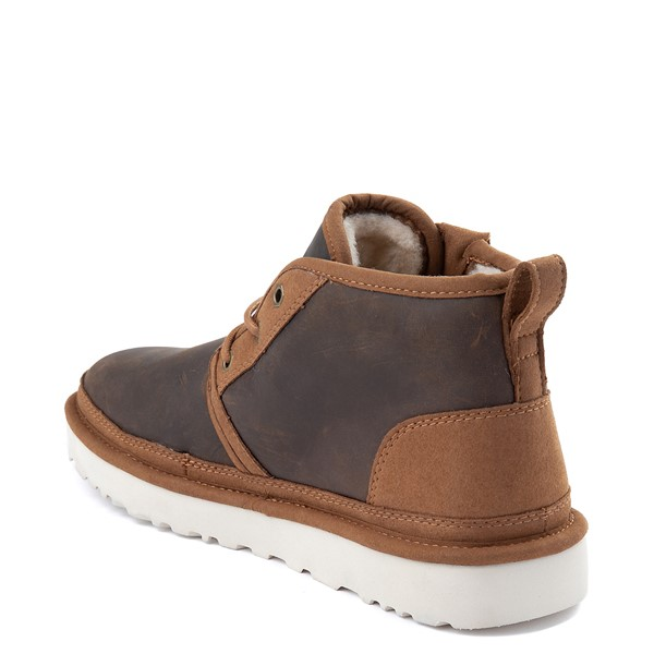 alternate view Mens UGG® Neumel Zip Casual Shoe - ChestnutALT1