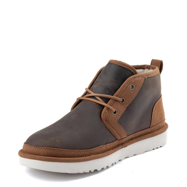alternate view Mens UGG® Neumel Zip Casual Shoe - ChestnutALT2