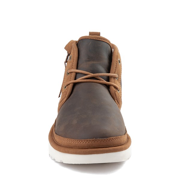 alternate view Mens UGG® Neumel Zip Casual Shoe - ChestnutALT4