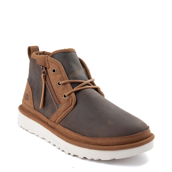 alternate view Mens UGG® Neumel Zip Casual Shoe - ChestnutALT5