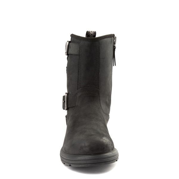 alternate view Mens UGG® Biltmore Moto Boot - BlackALT4