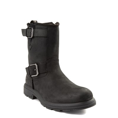 Alternate view of Mens UGG® Biltmore Moto Boot - Black