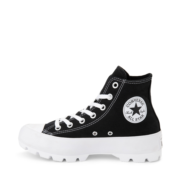alternate view Womens Converse Chuck Taylor All Star Hi Lugged Sneaker - BlackALT1