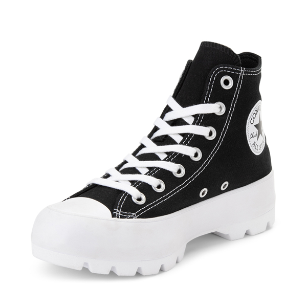 alternate view Womens Converse Chuck Taylor All Star Hi Lugged Sneaker - BlackALT2