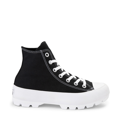 Main view of Womens Converse Chuck Taylor All Star Hi Lugged Sneaker - Black