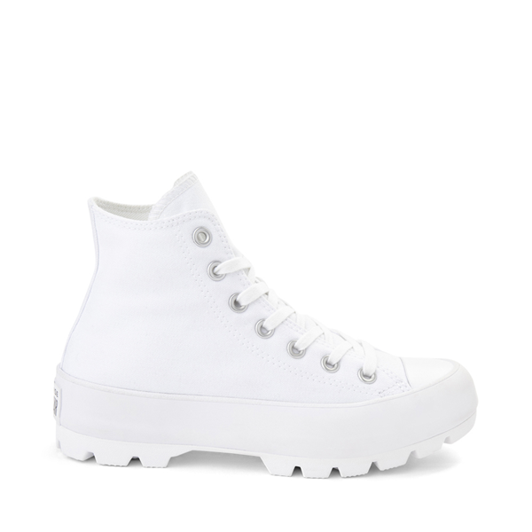 Main view of Womens Converse Chuck Taylor All Star Hi Lugged Sneaker - White