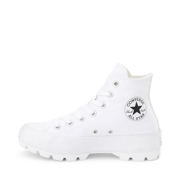 Alternate view of Womens Converse Chuck Taylor All Star Hi Lugged Sneaker - White