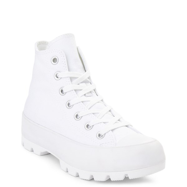 alternate view Womens Converse Chuck Taylor All Star Hi Lugged Sneaker - WhiteALT1B
