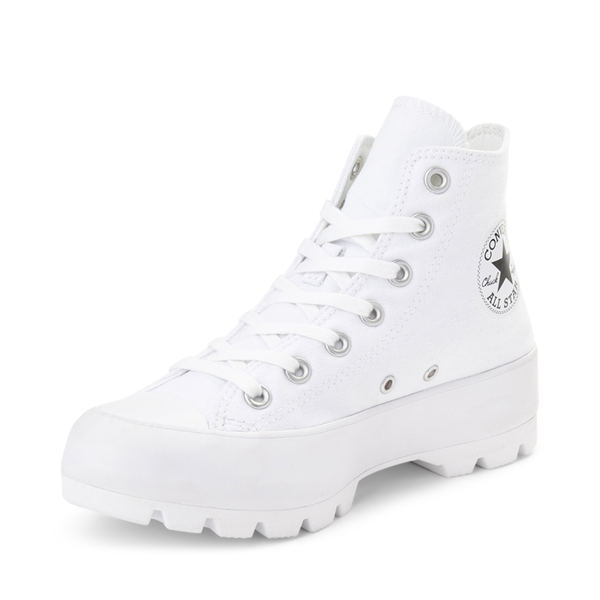 alternate view Womens Converse Chuck Taylor All Star Hi Lugged Sneaker - WhiteALT2