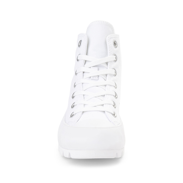 alternate view Womens Converse Chuck Taylor All Star Hi Lugged Sneaker - WhiteALT4