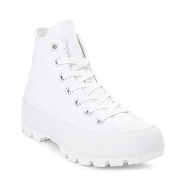alternate view Womens Converse Chuck Taylor All Star Hi Lugged Sneaker - WhiteALT5