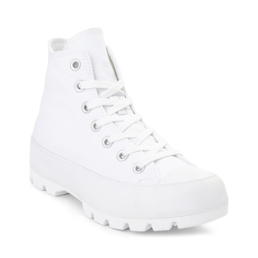 Dedicar estómago Cinemática  Womens Converse Chuck Taylor All Star Hi Lugged Sneaker - White | Journeys