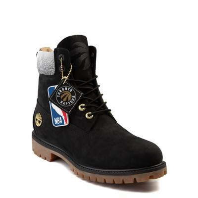 "Alternate view of Mens Timberland x NBA Toronto Raptors 6"" Boot - Black"