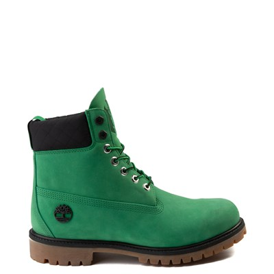"Main view of Mens Timberland x NBA Boston Celtics 6"" Boot - Green"