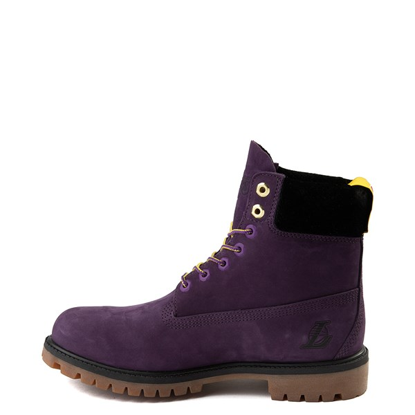 """alternate view Mens Timberland x NBA Los Angeles Lakers 6"""" BootALT1B"""