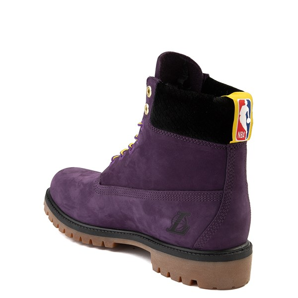 """alternate view Mens Timberland x NBA Los Angeles Lakers 6"""" BootALT2"""