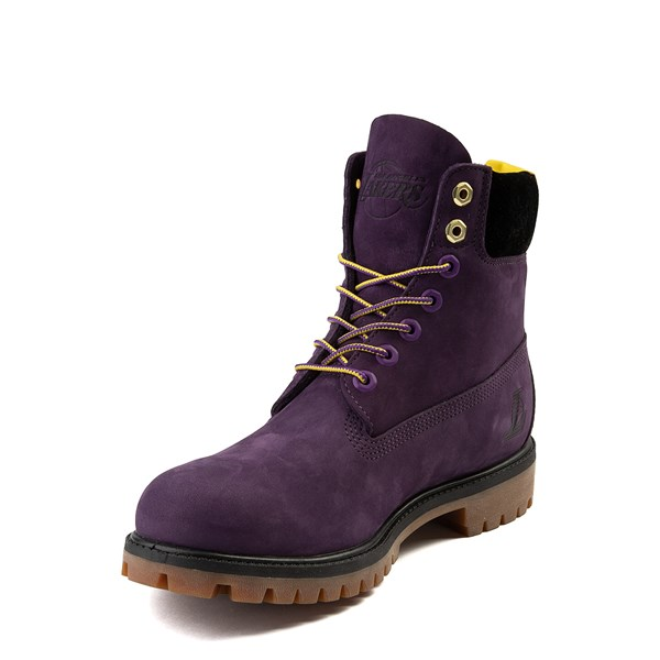 """alternate view Mens Timberland x NBA Los Angeles Lakers 6"""" BootALT3"""