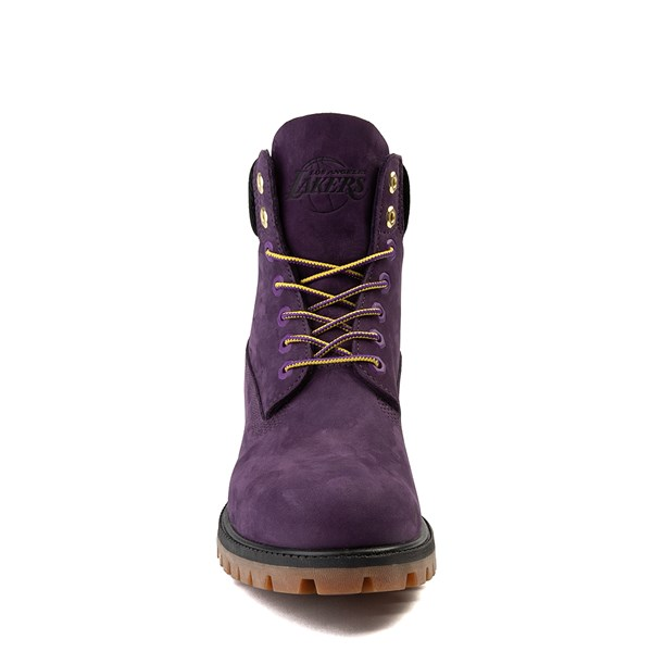 """alternate view Mens Timberland x NBA Los Angeles Lakers 6"""" BootALT4"""