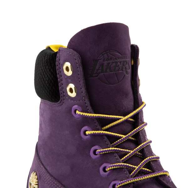 """alternate view Mens Timberland x NBA Los Angeles Lakers 6"""" BootALT7"""