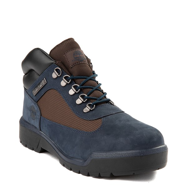 alternate view Mens Timberland Field Boot - NavyALT1