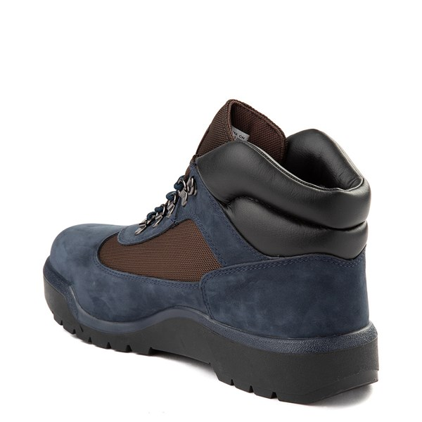 alternate view Mens Timberland Field Boot - NavyALT2