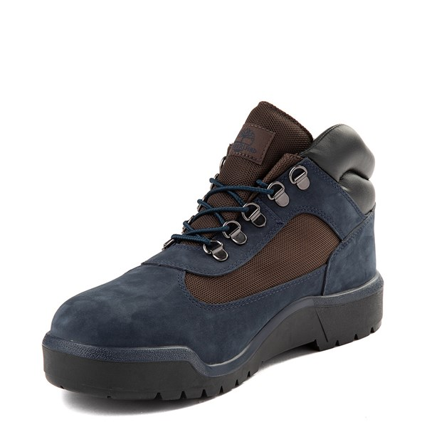 alternate view Mens Timberland Field Boot - NavyALT3
