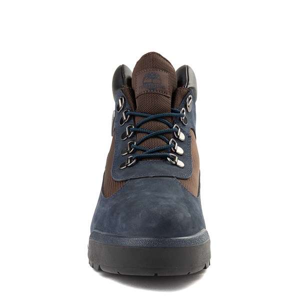 alternate view Mens Timberland Field Boot - NavyALT4