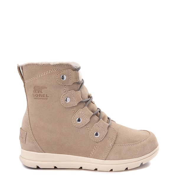 Womens Sorel Explorer™ Joan Boot - Ancient Fossil