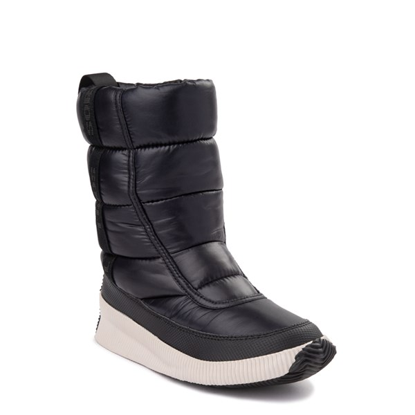 alternate view Womens Sorel Out N About™ Puffy Boot - BlackALT1