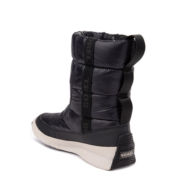 alternate view Womens Sorel Out N About™ Puffy Boot - BlackALT2