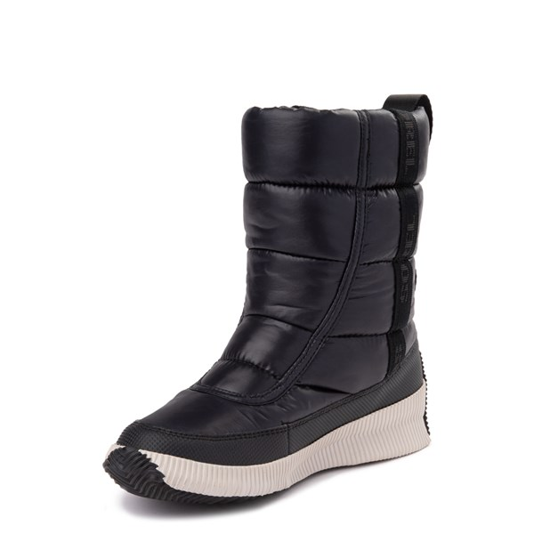 alternate view Womens Sorel Out N About™ Puffy Boot - BlackALT3